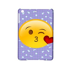 Face Smile Orange Red Heart Emoji Ipad Mini 2 Hardshell Cases