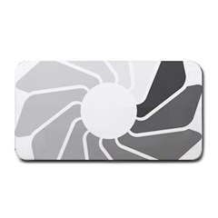 Flower Transparent Shadow Grey Medium Bar Mats by Alisyart