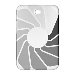 Flower Transparent Shadow Grey Samsung Galaxy Note 8 0 N5100 Hardshell Case  by Alisyart