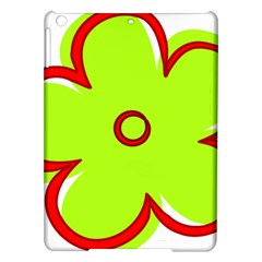 Flower Floral Red Green Ipad Air Hardshell Cases