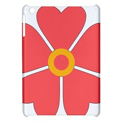 Flower With Heart Shaped Petals Pink Yellow Red Apple Ipad Mini Hardshell Case