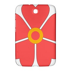 Flower With Heart Shaped Petals Pink Yellow Red Samsung Galaxy Note 8 0 N5100 Hardshell Case  by Alisyart