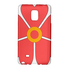 Flower With Heart Shaped Petals Pink Yellow Red Galaxy Note Edge