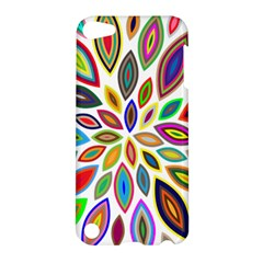Chromatic Flower Petals Rainbow Apple Ipod Touch 5 Hardshell Case by Alisyart