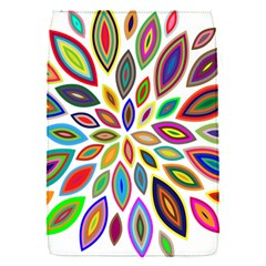 Chromatic Flower Petals Rainbow Flap Covers (s)