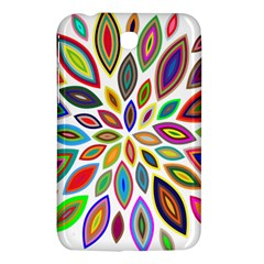 Chromatic Flower Petals Rainbow Samsung Galaxy Tab 3 (7 ) P3200 Hardshell Case  by Alisyart