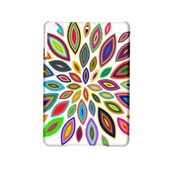 Chromatic Flower Petals Rainbow Ipad Mini 2 Hardshell Cases by Alisyart