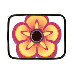 Flower Floral Hole Eye Star Netbook Case (small)