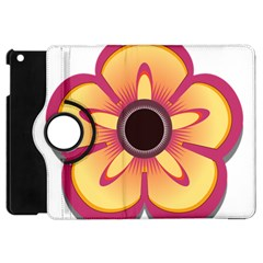 Flower Floral Hole Eye Star Apple Ipad Mini Flip 360 Case