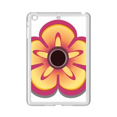 Flower Floral Hole Eye Star Ipad Mini 2 Enamel Coated Cases