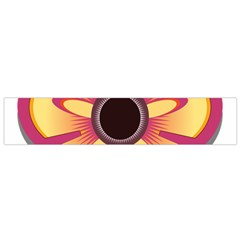 Flower Floral Hole Eye Star Flano Scarf (small) by Alisyart