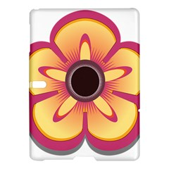 Flower Floral Hole Eye Star Samsung Galaxy Tab S (10 5 ) Hardshell Case