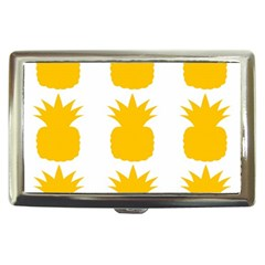 Fruit Pineapple Printable Orange Yellow Cigarette Money Cases
