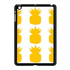 Fruit Pineapple Printable Orange Yellow Apple Ipad Mini Case (black)