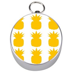 Fruit Pineapple Printable Orange Yellow Silver Compasses by Alisyart
