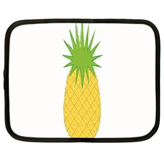Fruit Pineapple Yellow Green Netbook Case (large) by Alisyart