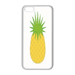 Fruit Pineapple Yellow Green Apple Iphone 5c Seamless Case (white) by Alisyart