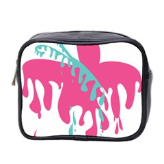 Full Butterfly Mini Toiletries Bag 2 Side by Alisyart