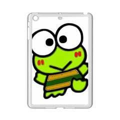 Frog Green Big Eye Face Smile Ipad Mini 2 Enamel Coated Cases