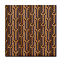Chains Abstract Seamless Tile Coasters