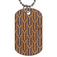 Chains Abstract Seamless Dog Tag (one Side) by Simbadda
