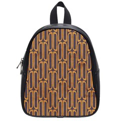 Chains Abstract Seamless School Bags (small)  by Simbadda