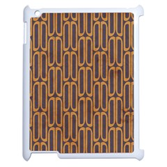 Chains Abstract Seamless Apple Ipad 2 Case (white) by Simbadda