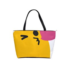 Happy Heart Love Face Emoji Shoulder Handbags