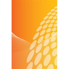 Abstract Orange Background 5 5  X 8 5  Notebooks by Simbadda