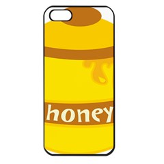 Honet Bee Sweet Yellow Apple Iphone 5 Seamless Case (black) by Alisyart