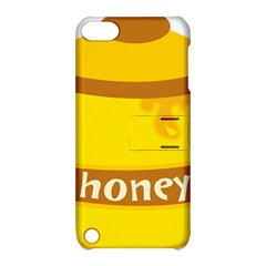 Honet Bee Sweet Yellow Apple Ipod Touch 5 Hardshell Case With Stand