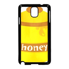 Honet Bee Sweet Yellow Samsung Galaxy Note 3 Neo Hardshell Case (black) by Alisyart