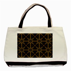 Digitally Created Seamless Pattern Tile Basic Tote Bag (two Sides)