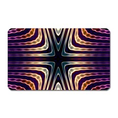 Vibrant Pattern Colorful Seamless Pattern Magnet (rectangular) by Simbadda