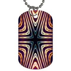 Vibrant Pattern Colorful Seamless Pattern Dog Tag (two Sides) by Simbadda