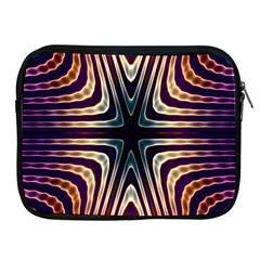 Vibrant Pattern Colorful Seamless Pattern Apple Ipad 2/3/4 Zipper Cases by Simbadda