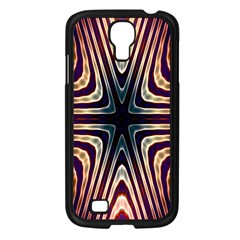 Vibrant Pattern Colorful Seamless Pattern Samsung Galaxy S4 I9500/ I9505 Case (black)
