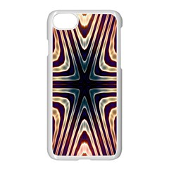 Vibrant Pattern Colorful Seamless Pattern Apple Iphone 7 Seamless Case (white) by Simbadda