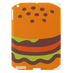 Hamburger Apple Ipad 3/4 Hardshell Case (compatible With Smart Cover)