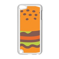 Hamburger Apple Ipod Touch 5 Case (white)