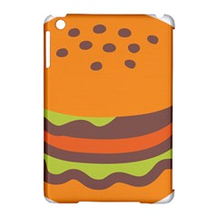 Hamburger Apple Ipad Mini Hardshell Case (compatible With Smart Cover)