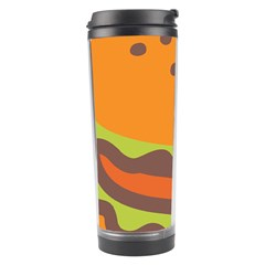 Hamburger Travel Tumbler by Alisyart