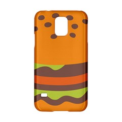 Hamburger Samsung Galaxy S5 Hardshell Case  by Alisyart