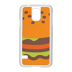 Hamburger Samsung Galaxy S5 Case (white)