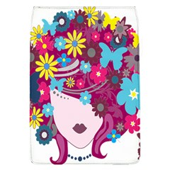 Floral Butterfly Hair Woman Flap Covers (l)  by Alisyart