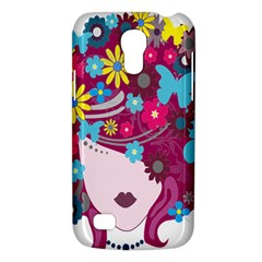 Floral Butterfly Hair Woman Galaxy S4 Mini