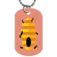 Honeycomb Wasp Dog Tag (one Side) by Alisyart