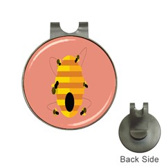 Honeycomb Wasp Hat Clips With Golf Markers