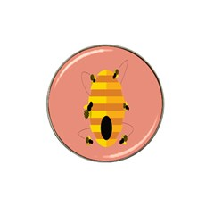 Honeycomb Wasp Hat Clip Ball Marker (4 Pack) by Alisyart