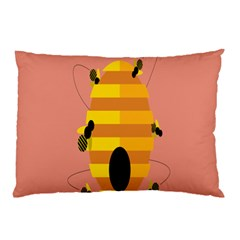 Honeycomb Wasp Pillow Case by Alisyart
